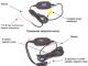 Беспроводной передатчик видеосигнала - 1 шт.  Гарантийный талон.